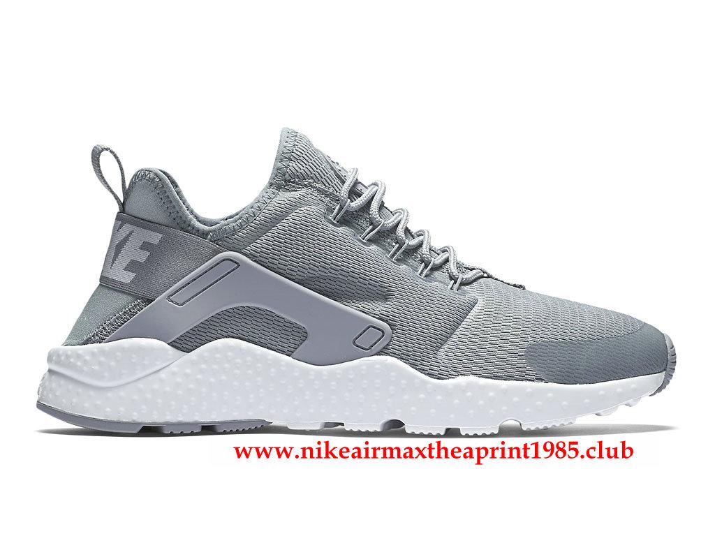 cheaper classic fit 100% quality Nike Air Huarache (Air URH) Ultra Gris 819151_003 Pas Cher Authentique Pour  Femme-1704150135 - Boutique Nike Vendre Chaussures Air Max Pas ...