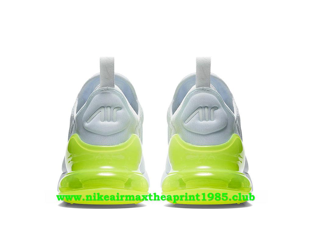 Nike Air Max 270 Homme Chaussures Prix Pas Cher BlancVert